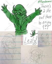 Leafy Gijinka!