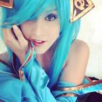 Sona cosplay (ID)
