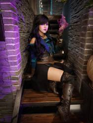 Yennefer of Vengeberg (cosplay)