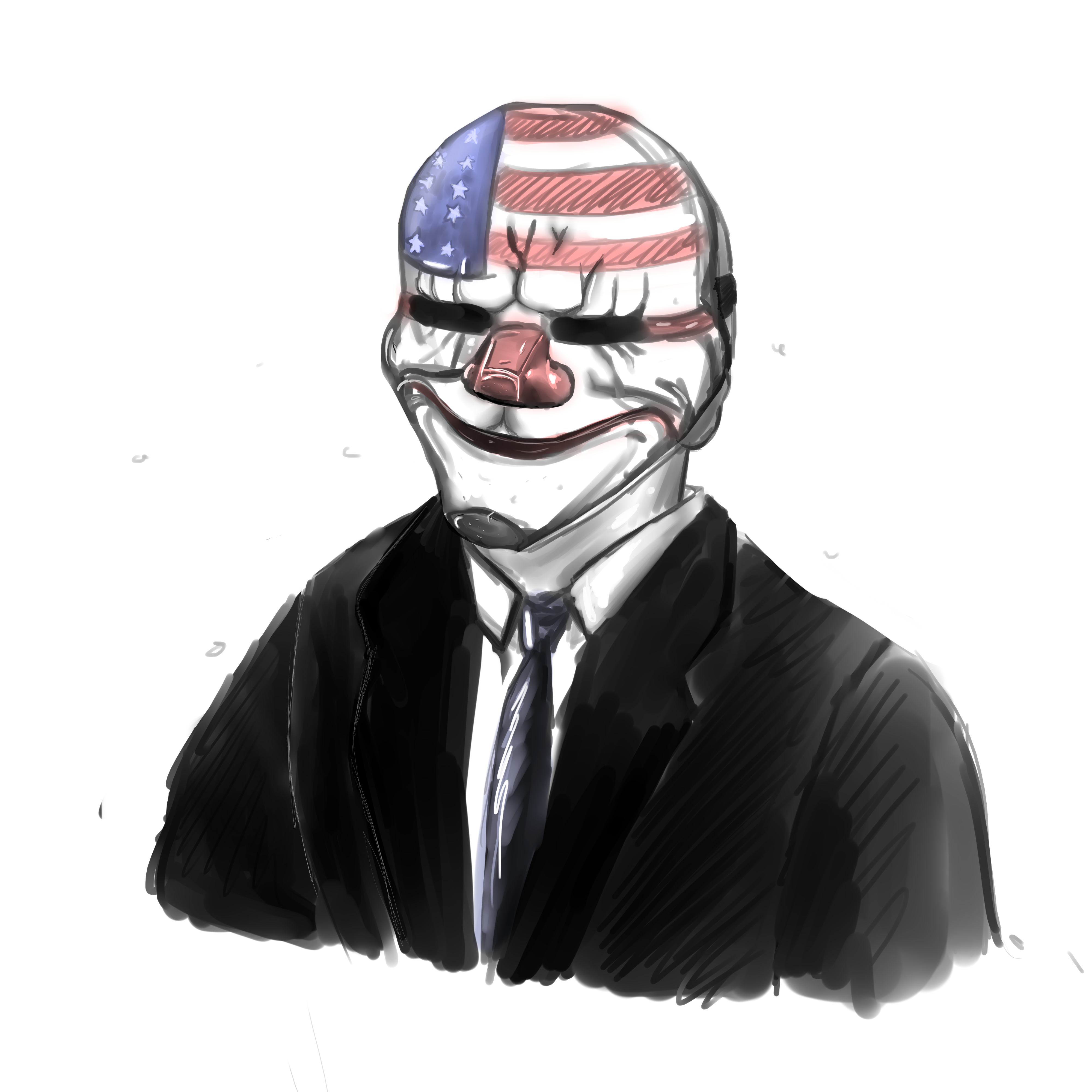 Buy Here Pay Here Dallas >> Payday 2 - Dallas Sketch by TehSasquatch on DeviantArt