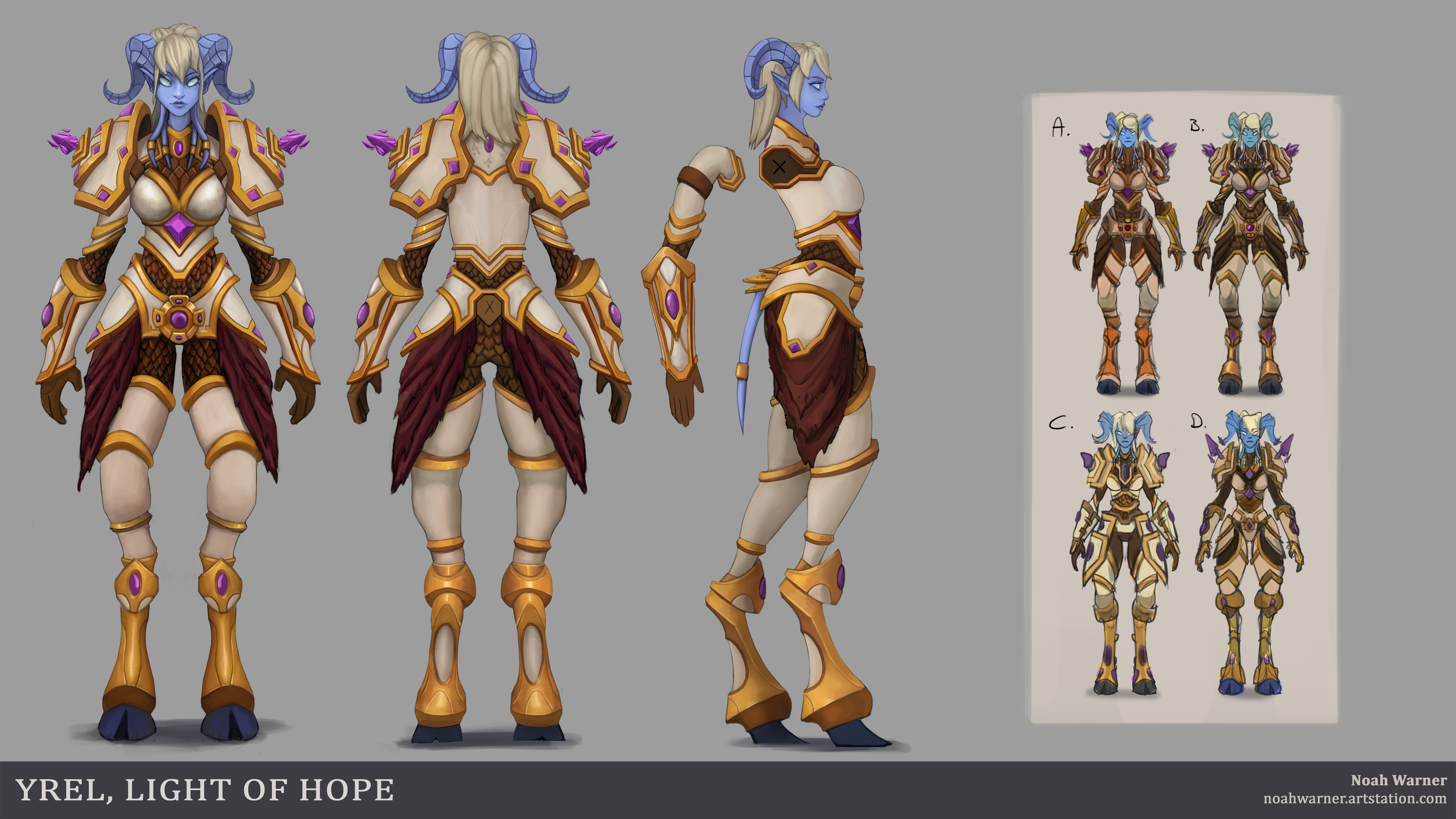 Yrel The Light Of Hope By Tehsasquatch On Deviantart New additions include the warcraft hero yrel. yrel the light of hope by tehsasquatch