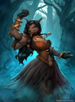 Witchwood Reveler - Hearthstone Fanart