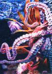 SOLD - Drawn to Help 28: Octopus's Garden