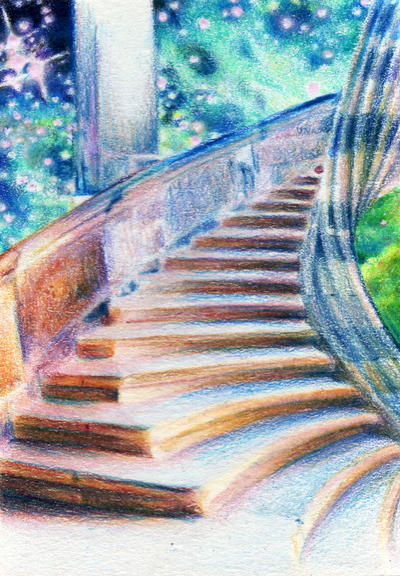 2.3: Stairway to Heaven by theperian on DeviantArt