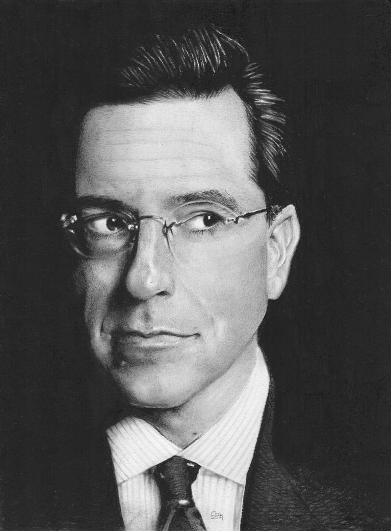 Stephen Colbert by theperian