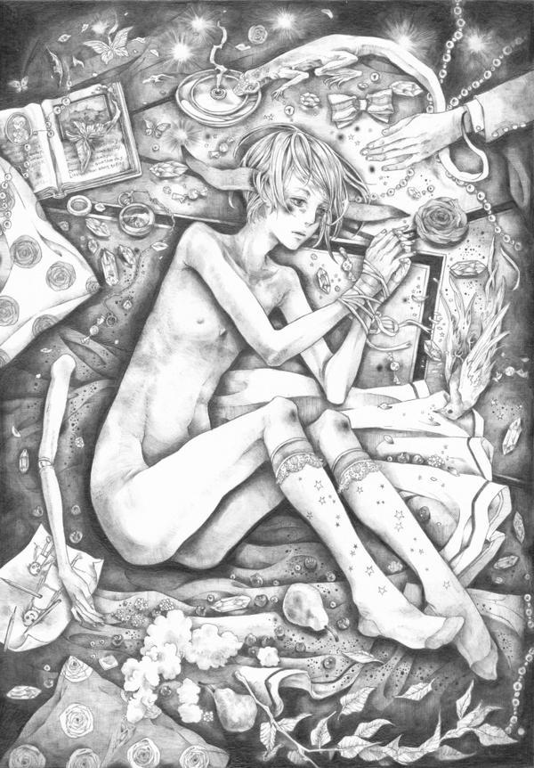 As A Clock Rabbit by kikunakamura