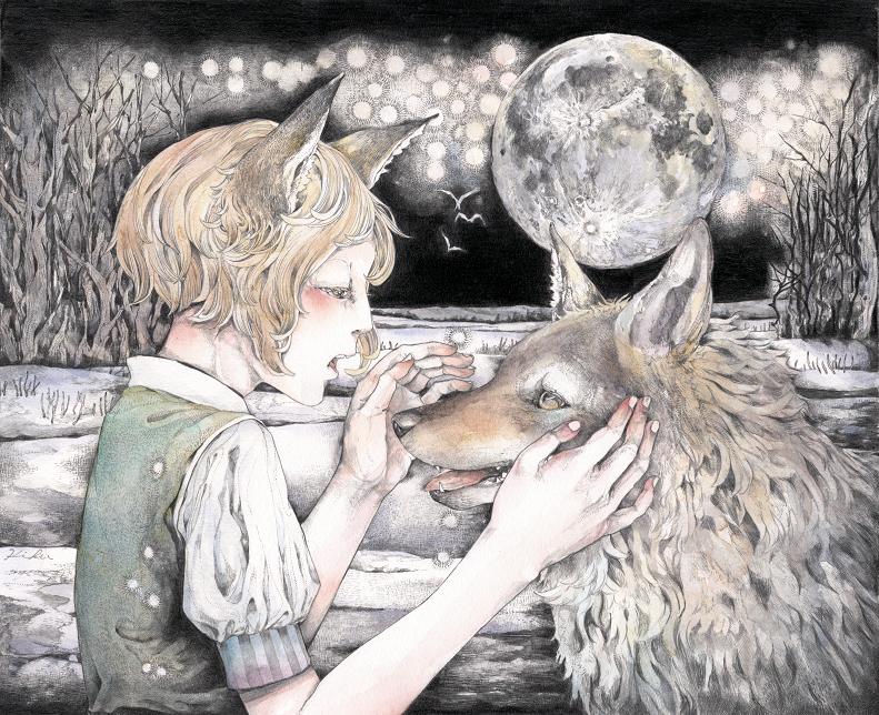 Moonlit night by kikunakamura