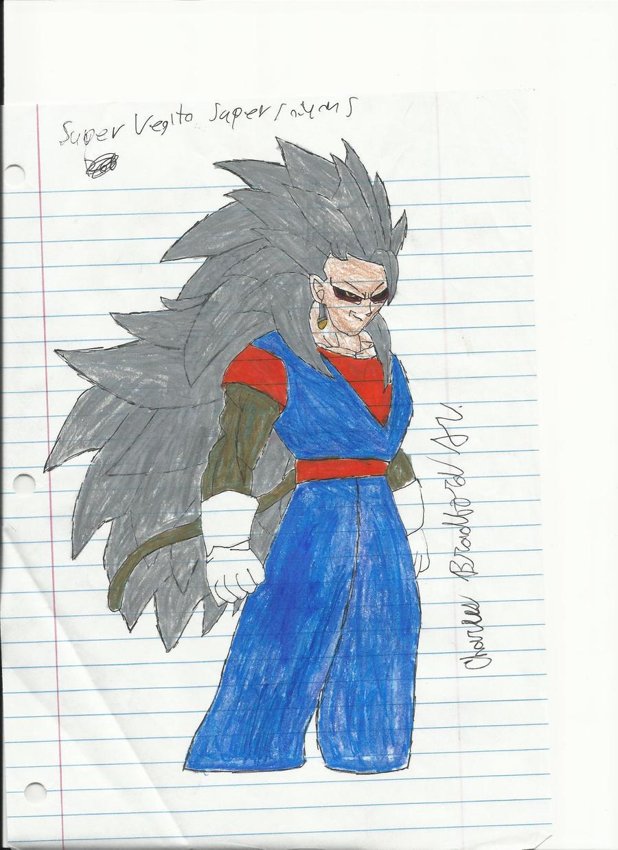 Super Saiyan 5 Vegito by Charliebug on deviantART