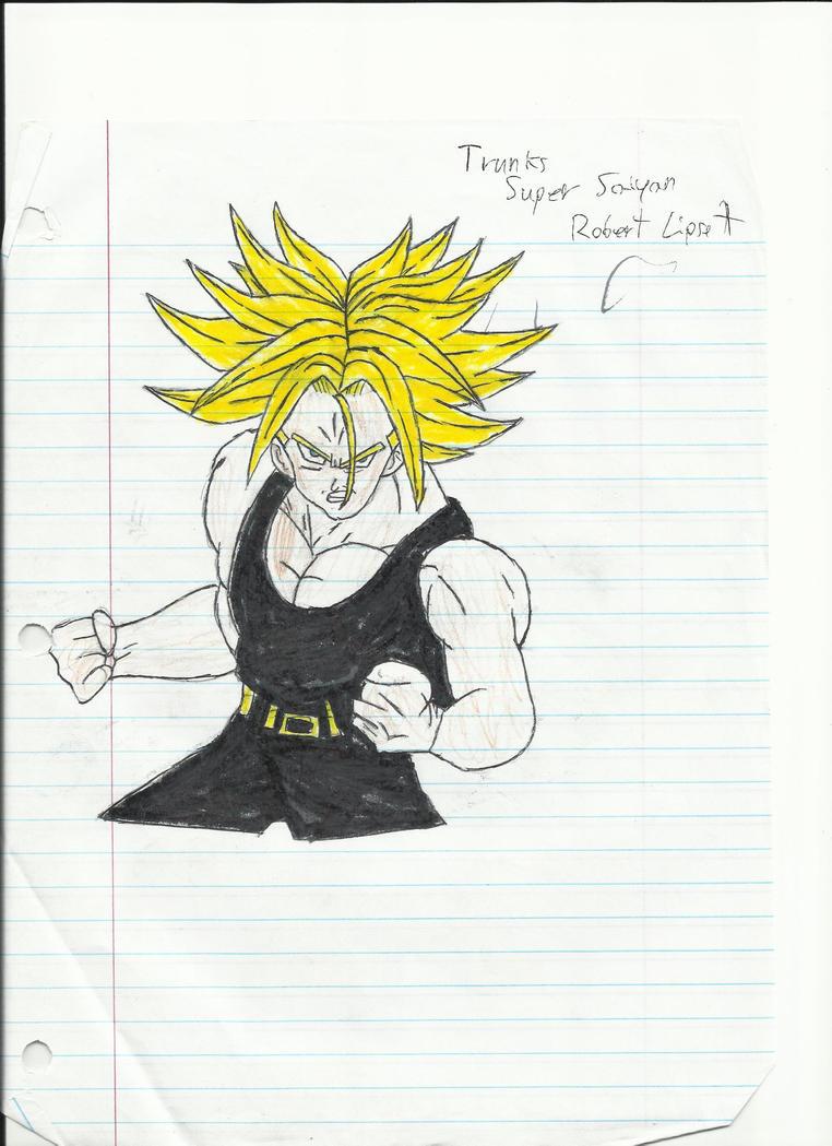 Super Saiyan Future Trunks by Charliebug on DeviantArt