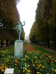 Typical Parisian Garden