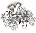 StraightEdge Tattoo Design