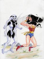 Silver Banshee and Wonder Woman copy