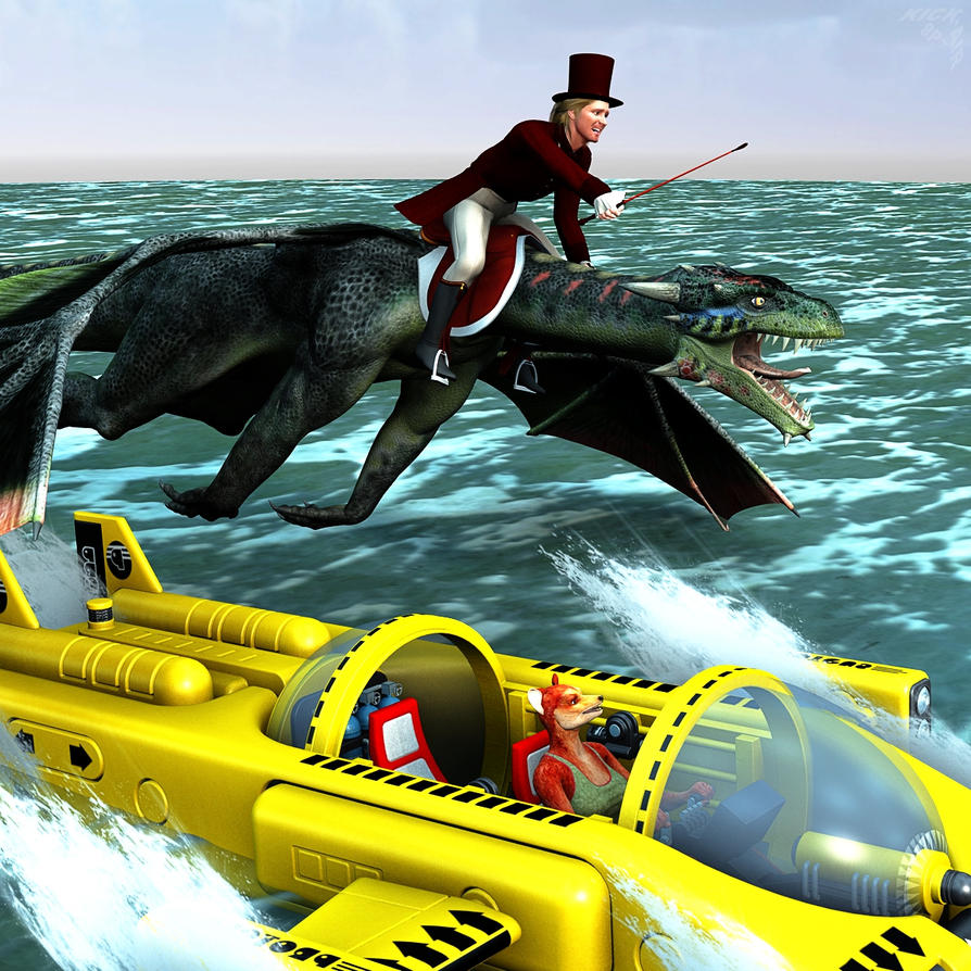 Racing's More Fun than Hunting by KickAir8P