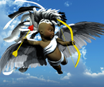 White-Feathered Cupid
