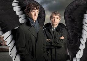 Sherlock's Guardian Angel by KickAir8P