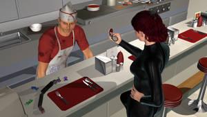 Diner Undercover, Take 2