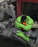 Hulk - Quiet Time by KickAir8P