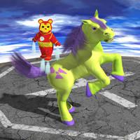 Iron Bear and Pony-Hulk - Defiant by KickAir8P