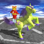 Iron Bear and Pony-Hulk - Defiant