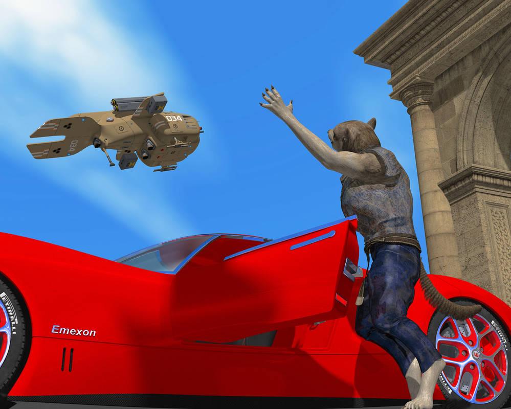 Parting at Indigitamenta by KickAir8P