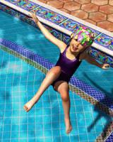 Grandma's Swim Cap by KickAir8P