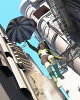 Midnight Silk:  Drop in the Bucket by KickAir8P