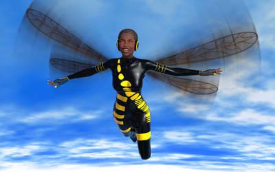 Janet Van Dyne, aka Wasp - CConcept02 by KickAir8P