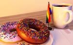 Donuts, Coffee, Pride