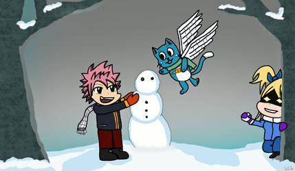 A Fairy Tail Winter by Lasercats6