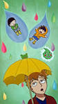 100% Chance of Rain by Lasercats6
