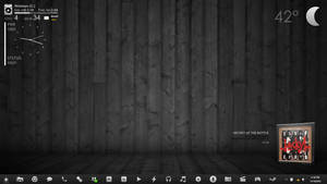 Dark Desktop by maxxdout
