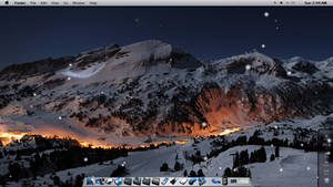 Winter Mac Theme on W7