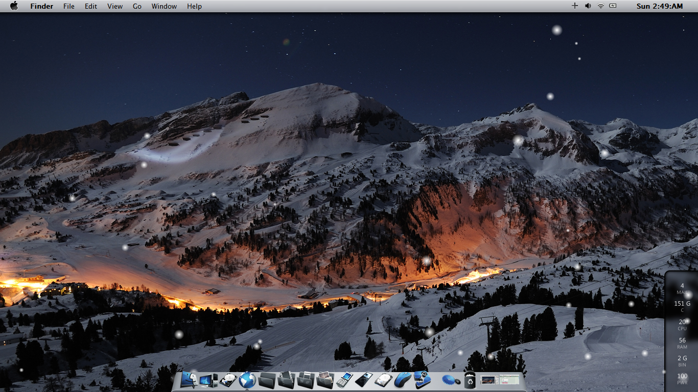 Gmail themes download - Winter Mac Theme On W7 By Maxxdout