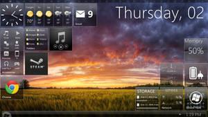 Windows 8 Beta by maxxdout