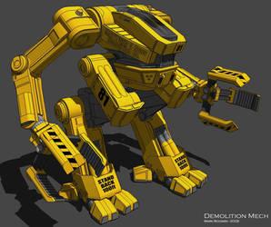 Demolition Mech by Marrekie