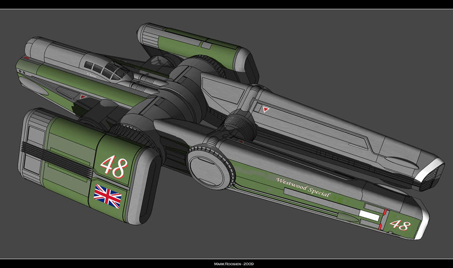 British Dominion Skyracer by Marrekie