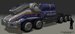 Racing Team Support Truck