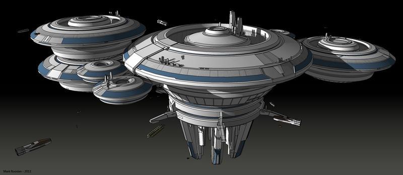 science fiction atlantis space base - photo #35