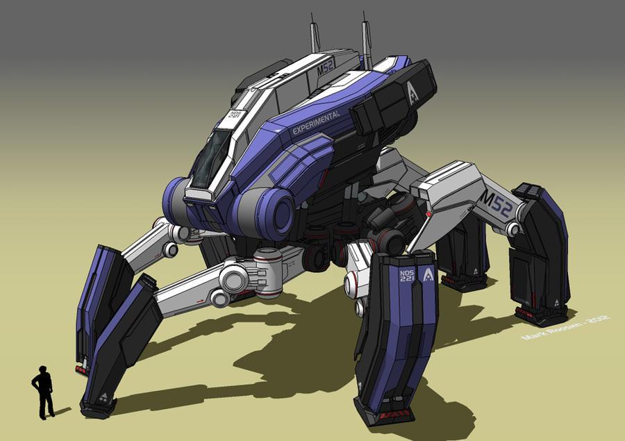Mass Effect: TALOS-mech by Marrekie