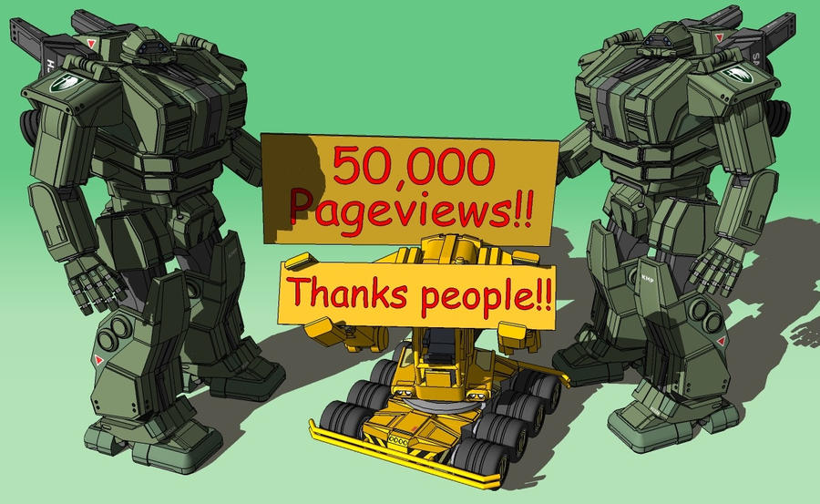 YEAH, 50K!! by Marrekie