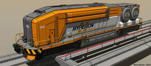 Nuclear Freight Engine