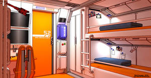 Spaceship cabin