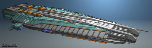 Deep Space Freighter 'Blue Angel'