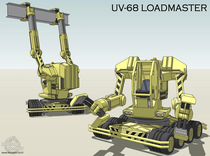 UV-68 Loadmaster by Marrekie