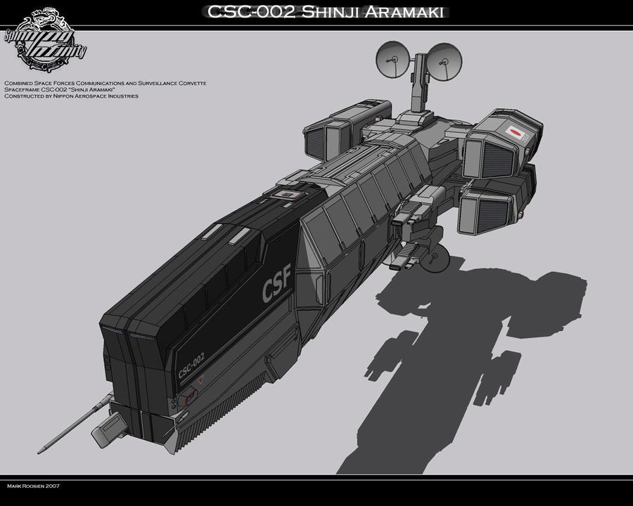 CSC-002 Shinji Aramaki by Marrekie