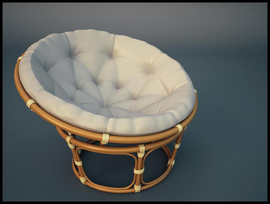 Papasan chair by brazowy on deviantart for Where to buy papasan chair