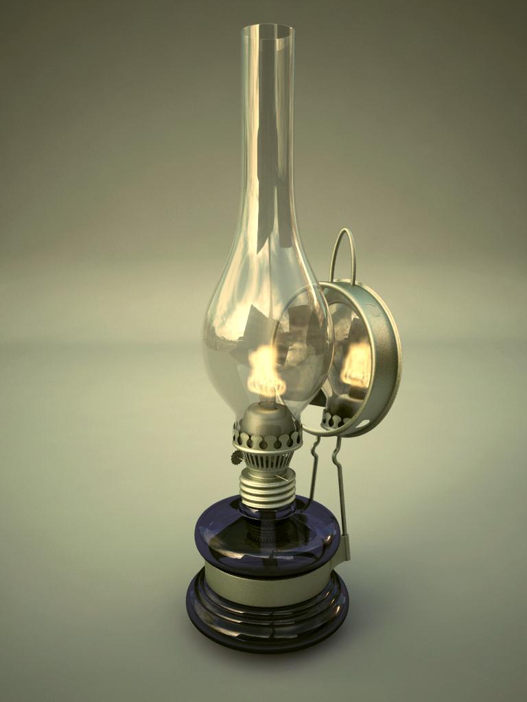 Lampa naftowa by Brazowy