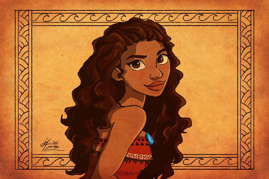 I am Moana by Jae-nox