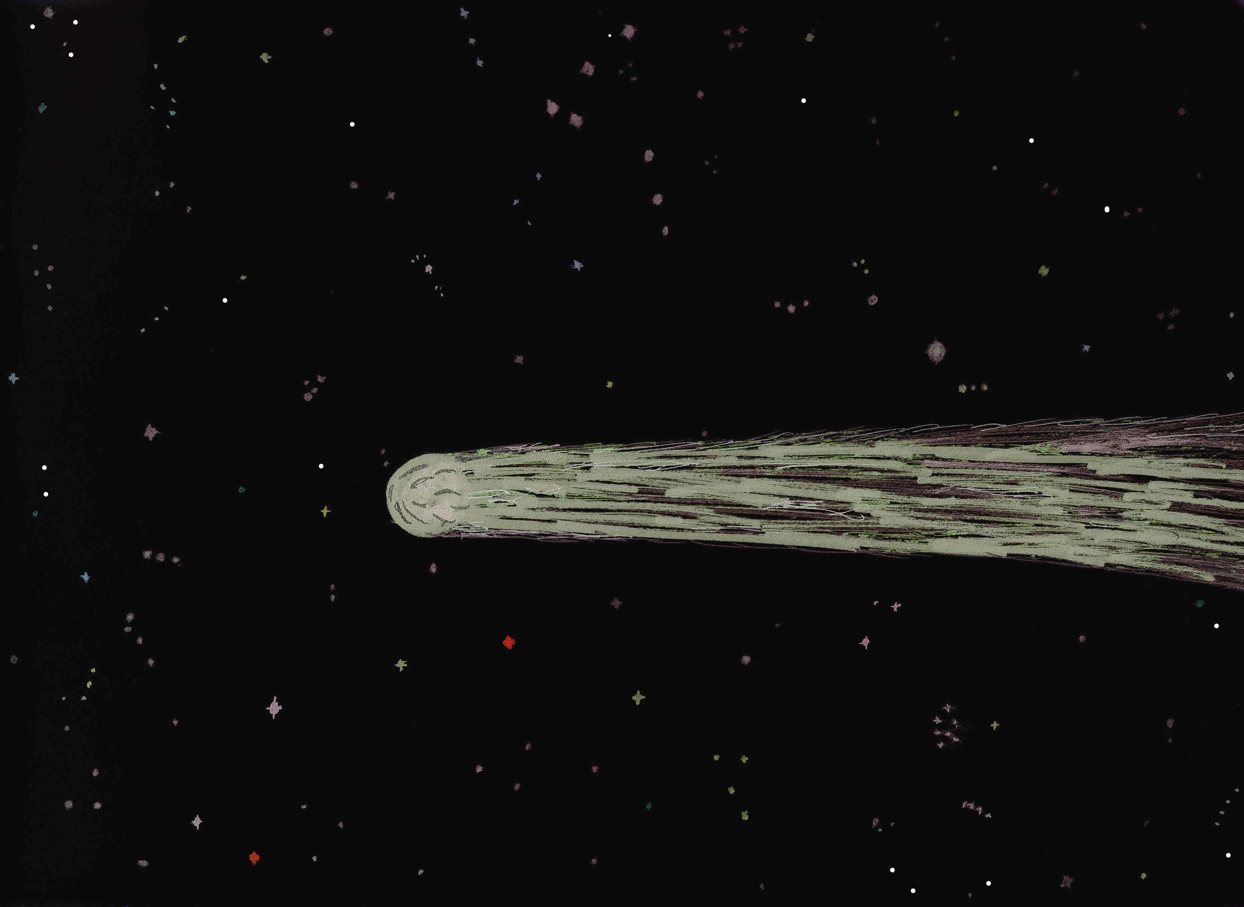 Comet ISON 2013. by albutross on deviantART