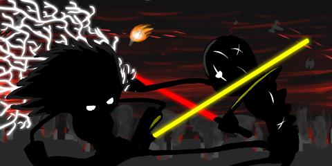 Jedi vs Sith, It's Monday by Domochevsky